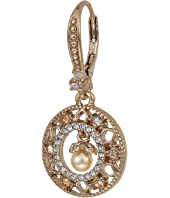 Marchesa - Small Round Drop Earrings