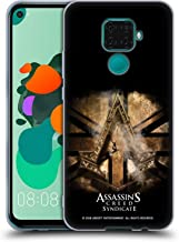 Official Assassin's Creed Gold Shilling Necklace Syndicate Logo Art Soft Gel Case Compatible for Huawei Nova 5i Pro/Mate 30 Lite