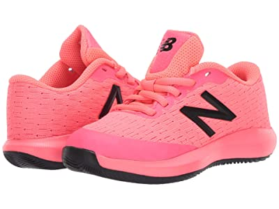 New Balance Kids KC996v4 Tennis (Little Kid/Big Kid) (Guava/Peony) Kids Shoes