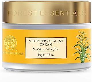Forest Essentials Night Treatment Cream Sandalwood & Saffron 50g (Night Cream )