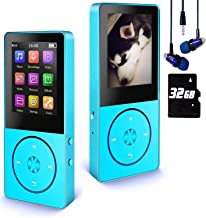 $23 » Mp3 Player / Mp4 Player, Hotechs MP3 Music Player with 32GB Memory SD Card,Build-in Speaker with FM Radio, Voice Record