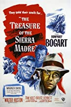 American Gift Services - The Treasure of The Sierra Madre Vintage Humphrey Bogart Movie Poster - 24x36