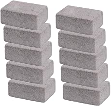 Elaziy Grill Griddle Cleaning Brick Block Ecological Odorless Cleaning Stone De-Scaling Grill Stone Cleaner Removes Rust Grease(Pack of 10)