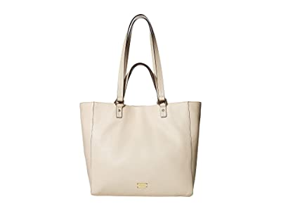 Frances Valentine Margie Double Handle Tote (Oyster) Tote Handbags