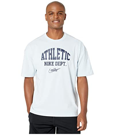 Nike NSW Short Sleeve Loose Tee University Athletic (Blue Tint/Midnight Navy) Men