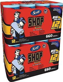 Scott Shop Towels (12pk.)- 2 pk, 24 Rolls
