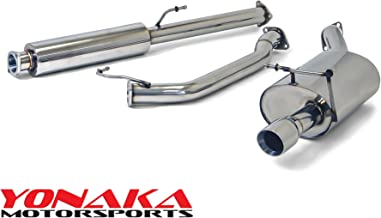 Yonaka Compatible with Honda CR-V 2007-2009 Stainless Steel 2.5