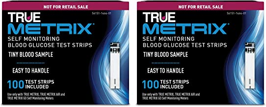 TRUE METRIX® Blood Glucose Test Strips NFRS 100ct - 2 Pack (200 Test Strips)