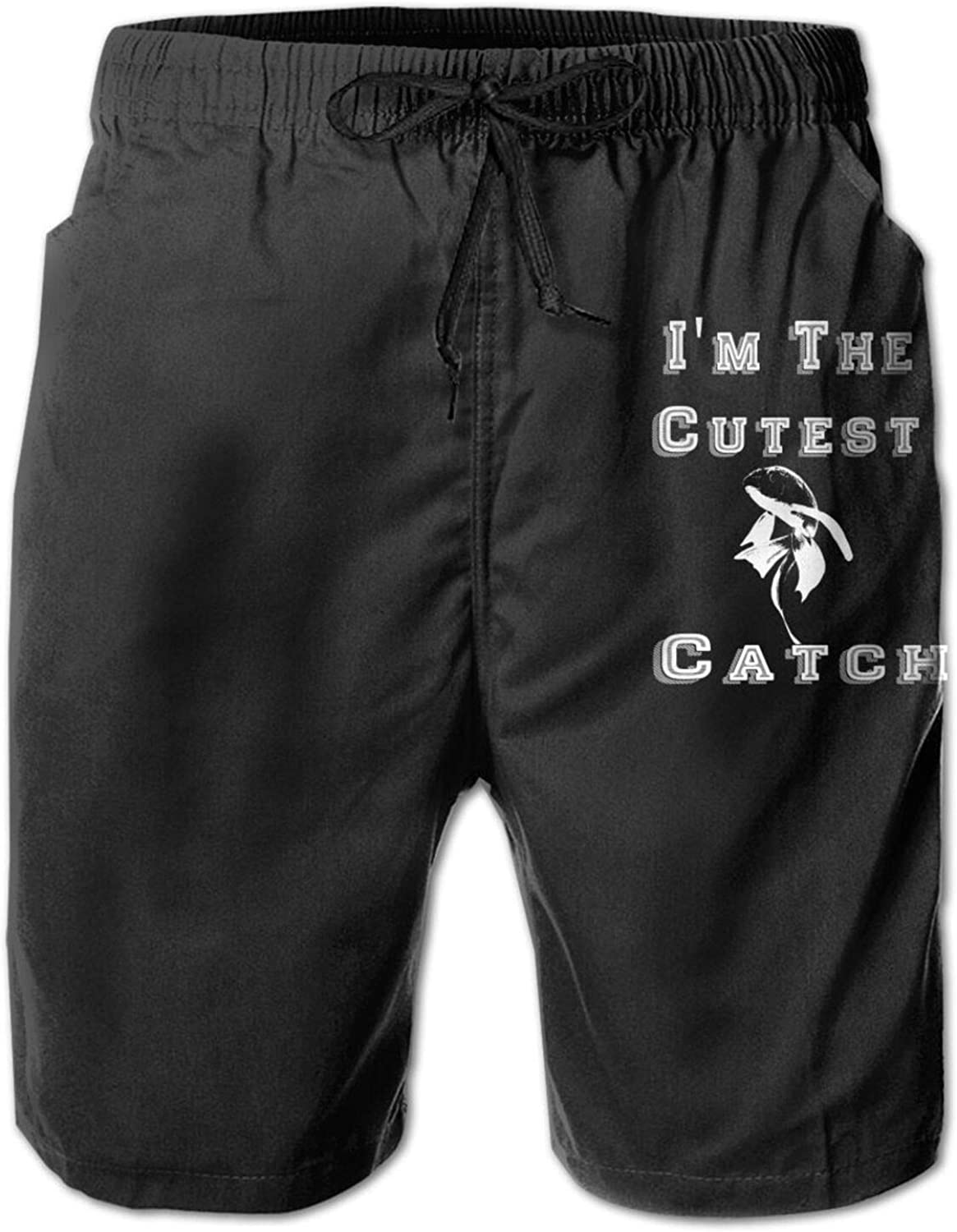 N A I'm The Cutest Catch Quick-Drying Lig Men's Swim Trunks 3D Free shipping 40% OFF Cheap Sale