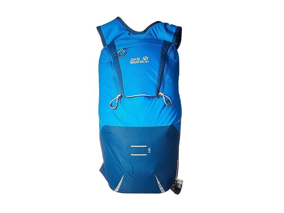 Jack Wolfskin Crosstrail 12 (Electric Blue) Backpack Bags