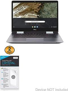 Película protetora de tela Dell Inspiron Chromebook 14 2 em 1 (14 polegadas), BoxWave [ClearTouch Crystal (pacote com 2)] ...