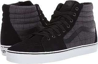[VANS(バンズ)] メンズスニーカー・靴 SK8-Hi (Suiting) Black/True White Men's 13, Women's 14.5 (31cm(レディース31.5cm)) Medium [並行輸入品]