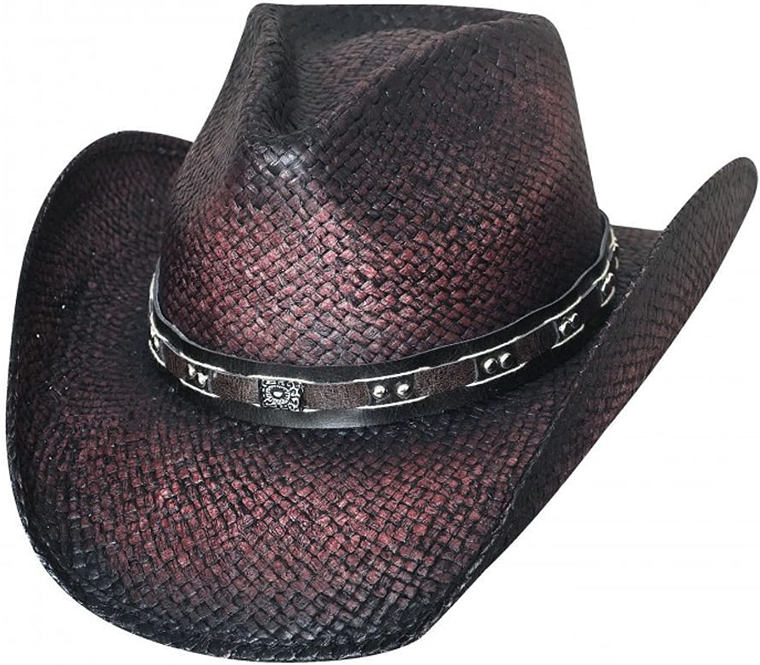 Bullhide Burnin Down Straw Western Hat 2798