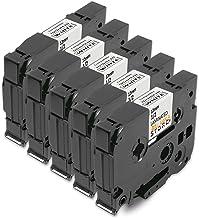 5x Tape Cassette Brother TZe-231 TZ-231 Negro sobre Blanco 12mm x 8m Compatible Para Tze Tape Brother P-Touch PT-1000 P700 9500 2430 GL-H100 GL-H105 GL-200 PT-1080 PTE-550WVP PT-P700 PT-H300 PT-1005 PT-1010 PT-1090 PT-1200 PT-1250