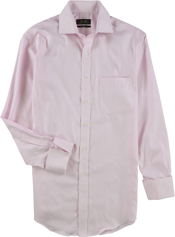 Tasso Elba Mens Non Iron Button Up Dress Shirt