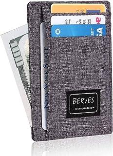 Ultra Slim Front Pocket Wallet for Men Women Credit Cards Holder RFID Blocking