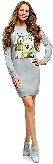 Mujer Vestido de Estilo Deportivo con Estampado