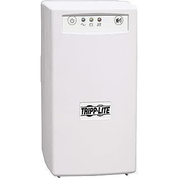 Tripp Lite BCPERS450 450VA 280W UPS Desktop Battery Back Up Tower 120V USB PC / Mac, 3 Outlets