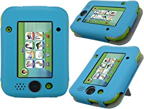 LeapPad Jr. Case - HOTCOOL New PU Leather with Kickstand Cover Case for Leapfrog LeapPad Jr. Kids Tablet, Blue