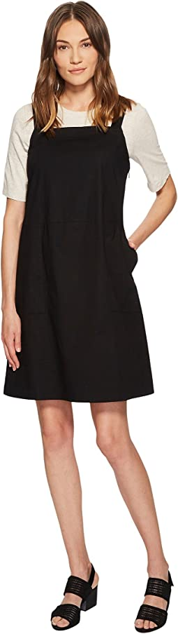 Eileen Fisher - Organic Cotton Poplin Jumper Dress