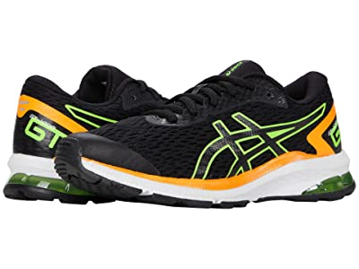 ASICS Kids GT-1000 9 (Little Kid/Big Kid) (Black/Green Gecko) Boys Shoes