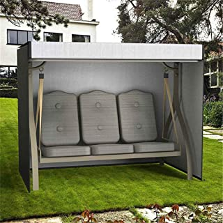 """Oeyal Patio Swing Cover, 3 Triple Seater Swing Cover Outdoor Furniture Porch Protection Waterproof (Large (88"""" L x 60"""" W x 72"""" H))"""