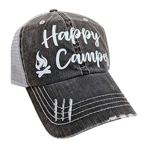 Camping Makes Me Happy Cap Camping Is Always A Good Idea Hat