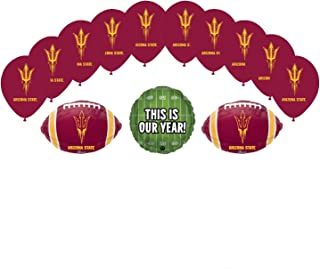 Mayflower Products Arizona State University Sun Devils Football Tailgating Party Supplies Balloon Bouquet Decorations
