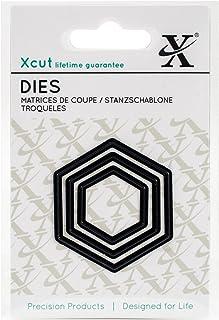 Docrafts Xcu503638 Xcut Mini Decorative Dies 3//pkg-nesting Hearts Die