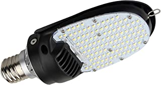 36W, 54W, 75W or 115W 180° Corn LED Light Bulb with Rotating E39 Screw Base 4000K 4320 Lumens, 175W Metal Halide Equivalent, 180 Degree Commercial Led Bulb, Single (54)