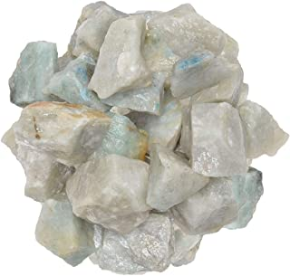 Digging Dolls: 1 lb of Light Green Aventurine Rough Stones from India - Raw Rocks Perfect for Tumbling, Lapidary Polishing, Reiki, Crystal Healing and Crafts!