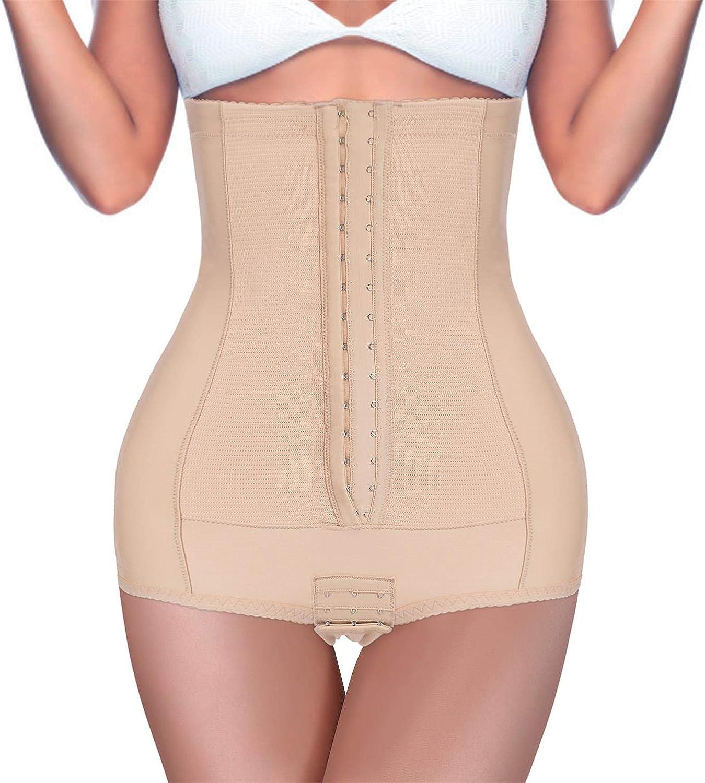 BRABIC Postpartum Girdle High Waist Control Panties for Women Butt Lifter Belly Slimming Body Shaper Underwear