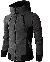 Best hoodie high collar Reviews