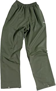 Castle Clothing Fortress Flex Trousers - Waterproof, Windproof [Large - Olive Green]