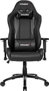 AKRacing NITRO Gaming Chair with High Backrest, Recliner, Swivel, Tilt, Rocker & Seat Height Adjustment Mechanisms, 5/10 W...
