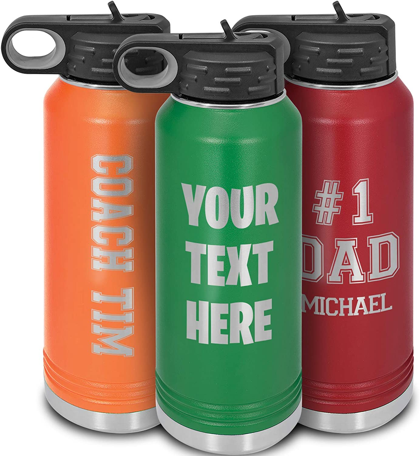 Engraved Water Bottle Personalized I Fees free Steel Thermos OFFer Stainless