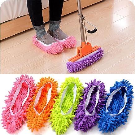 nuovo autentico scarpe esclusive allacciarsi dentro 5Five 1?paio Ciabatte pattine Mop per pavimenti Ufficio facile da ...