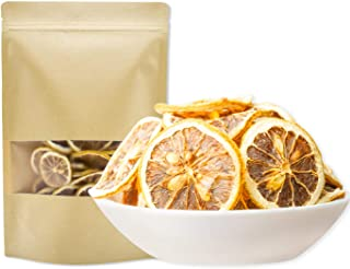 Dried Lemon Slices Organic Dried Osmotic Lemon Slices Vitamin Water Therapy Weight Loss Scented Citr (100G package)