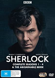 Sherlock: Complete Series 1-4 & the Abominable Bride (DVD)