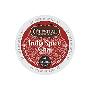 Celestial Seasonings India Spice Chai Tea K-Cup