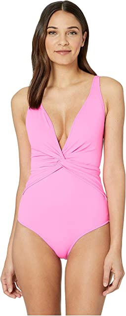 Classic Front Twist One-Piece