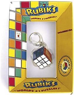 Rubik's Cube Keyring Edition | Accessoire 3x3 mini-cube porte-clé, jouet puzzle de voyage