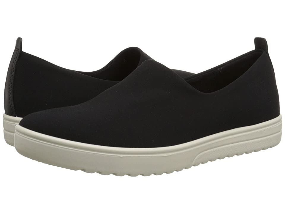 ECCO Fara Slip-On (Black/Black) Women