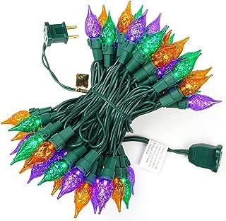 BOHON LED String Lights 19Ft 70 LEDs UL Certified Multi Color Christmas Lights for Weddings Celebrations Party Halloween Carnival Decor