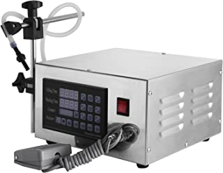 Happybuy XK-280 Liquid Filling Machine Automatic Digital Control Bottle Filler 2 to 3500ml Bottle Filling Machine