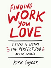 Finding Work You Love: 3 Steps to Getting the Perfect Job After College                                              best Job Hunting Books