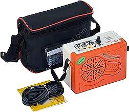 Sound Labs Swar Sudha Electronic Harmonium Shruti Box (Orange)