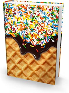 Book Sox Stretchable Book Cover: Jumbo Sprinkles Print. Fits Most Hardcover Textbooks up to 9