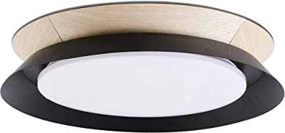 Faro Barcelona 20094 - TENDER LED Plafonnier noir conçu par Nahtrang