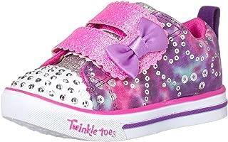 Skechers Kids' Sparkle Lite-Rainbow Cuties Sneaker
